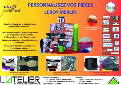 Affiche Leroy Merlin