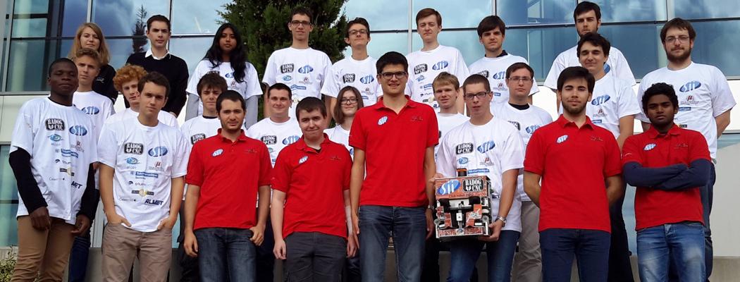 L'équipe Robot ESEO 2016
