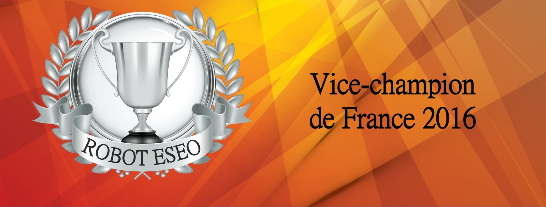 Vice-Champion de France 2016