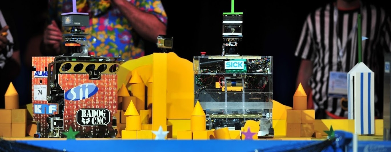 Black, robot 2016 en finale de la coupe de France