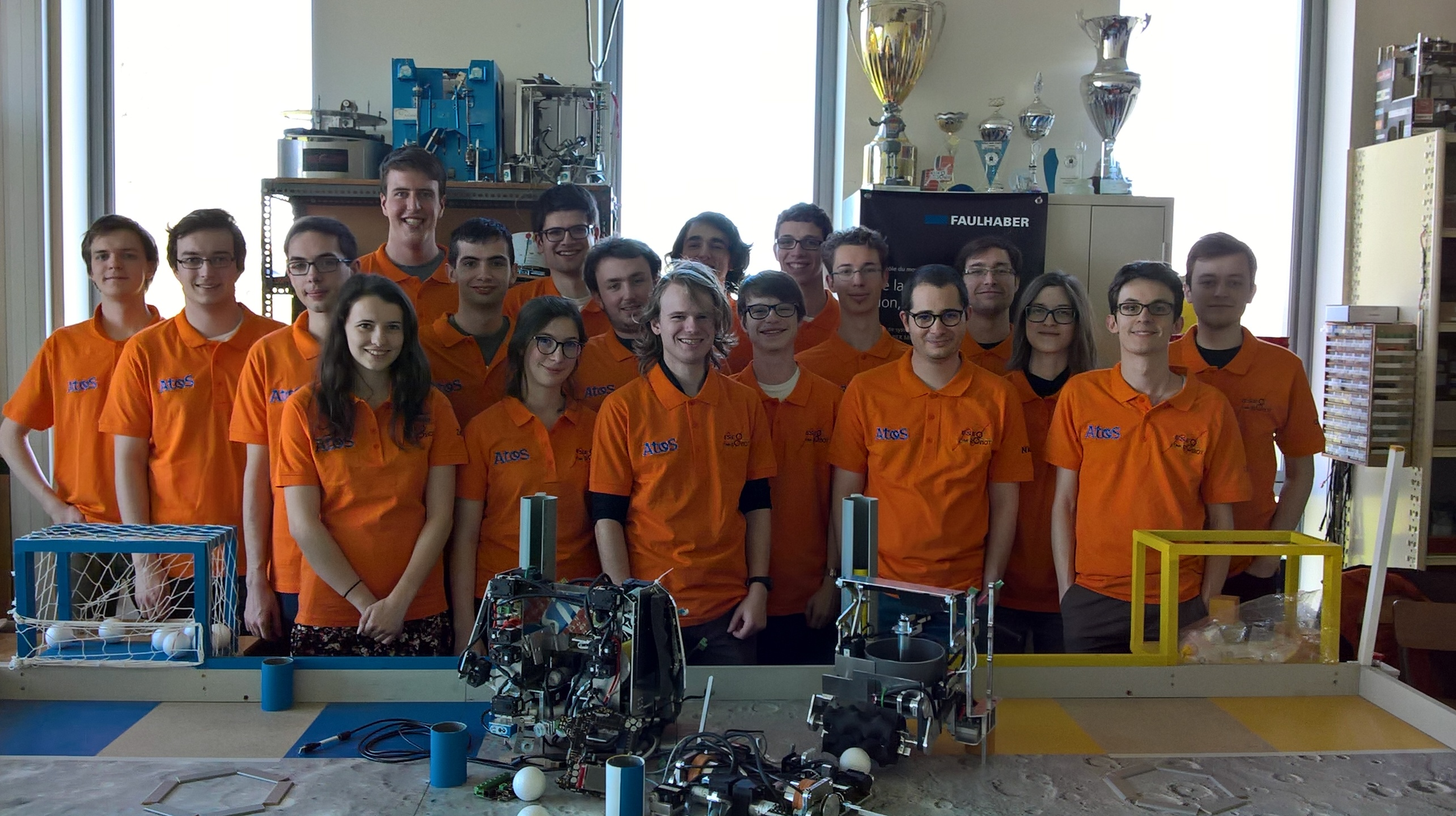 L'équipe Robot ESEO 2017