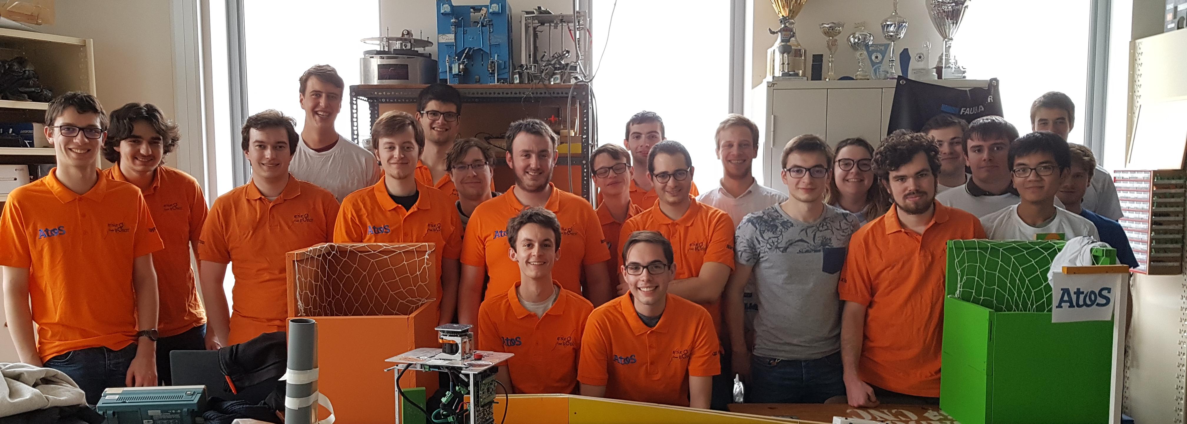 L'équipe Robot ESEO 2017-2018
